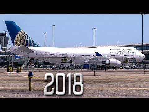 New Flight Simulator 2018 | Last Ever Boeing 747 Flight - P3D 4.1 [Ultra Realism]