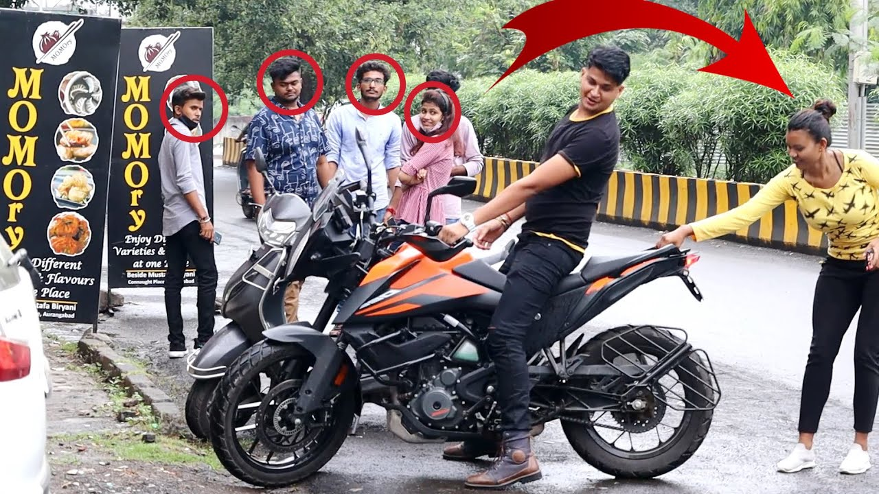 UP Boy Picking up Marathi girl on Adventure 390 // By Sumit cool dubey