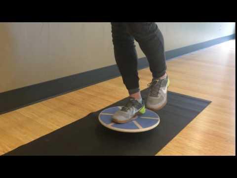 Balance Board Exercise #6: Single Foot Tilts