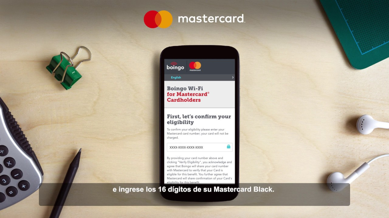 Mastercard – Boingo
