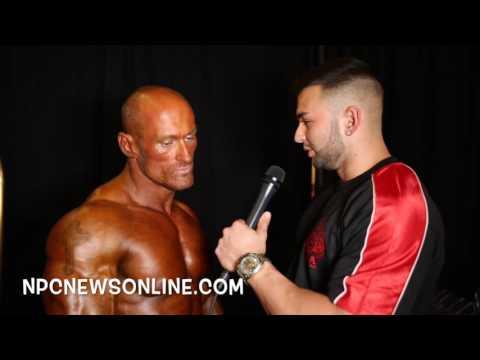 2016 NPC Universe Men's Overall  Bodybuilding Edward Brown Champion