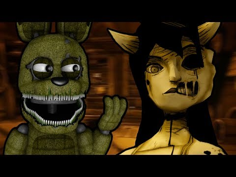 PLUSHTRAP PLAYS: Bendy and the Ink Machine - Chapter 3 (Part 1)    A DATE WITH AN ANGEL!!!