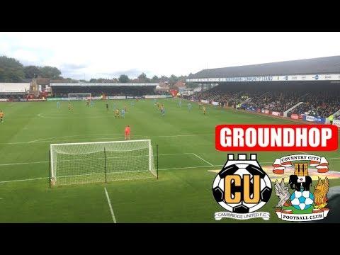 Groundhop Cambridge United VS Coventry City /Abbey Stadium