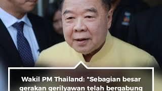 Pemerintah Thailand Desak Semua Kelompok Separatis Bergabung Dalam Pembicaraan Damai