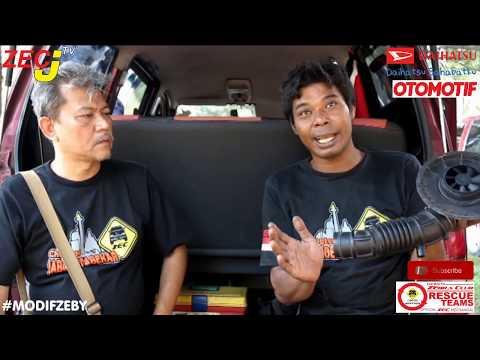 MODIF ZEBY - Penggunaan Electric Fan pada Daihatsu Zebra Expass