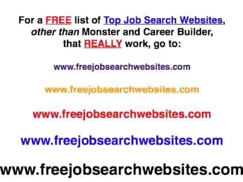 Free Job Search Websites