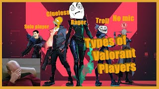 Types of Valorant Players