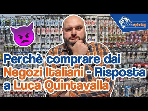 Perchè comprare nei negozi di pesca italiani? - Risposta al video di @Luca Quintavalla
