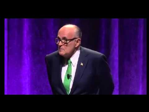 "Rudy Giuliani San Bernadino Memorial Service FULL Speech ""Fight Back"""