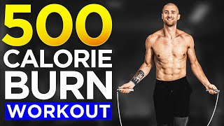 500 Calorie Burn At Home Jump Rope Workout