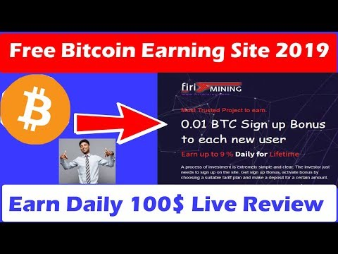 Mining Free Bitcoin Earning Site 2019 | Signup Bonus 0.01 BTC Instant | Free Bitcoin Win| Firiming