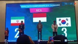 Khiromal Katibin Atlet Panjat Tebing Peraih Medali Emas di Ajang Asian Youth Championship di China