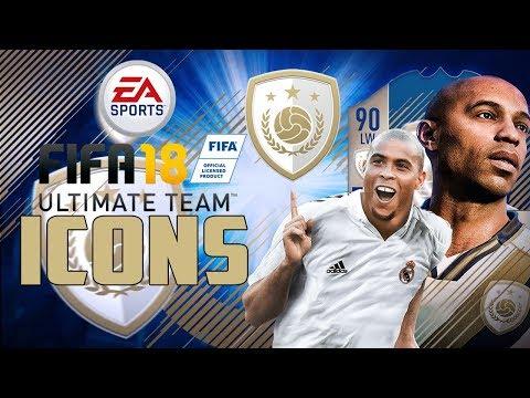 FIFA 18 FUT | Die Icons im Detail! Alle Ikonen vorgestellt - Legenden nun auch auf PS4 & PC!