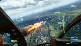BF3 Armored Kill Armored Shield Little Bird Gameplay (PC HD)