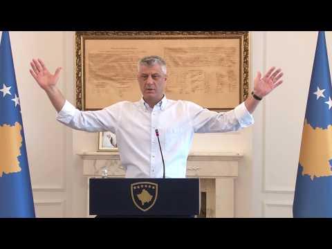 Thaçi: Gjuriq hyri në Kosovë një ditë para arrestimit