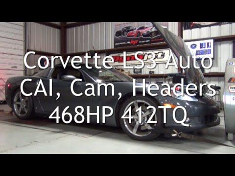 Corvette LS3 auto CAI cam headers 468HP 412TQ