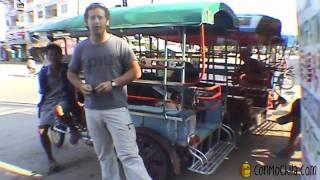 02 - Tuk-tuk desde Chiang Khon hasta la frontera - Viaje a Laos de mochileros