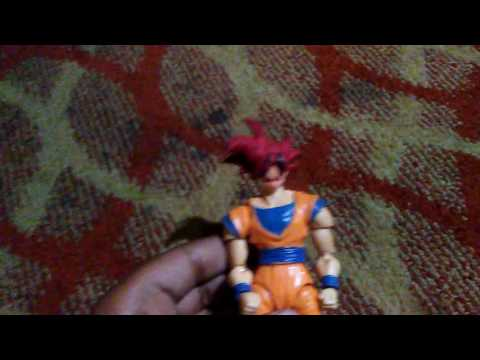 How to make ssg Goku Sh Figurats.