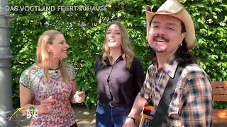 Stefanie Hertel, Tochter Johanna, Mann Lanny a capella - Das Vogtland feiert Zuhause