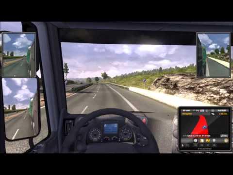 Euro Truck Simulator 2 - Genève to Paris