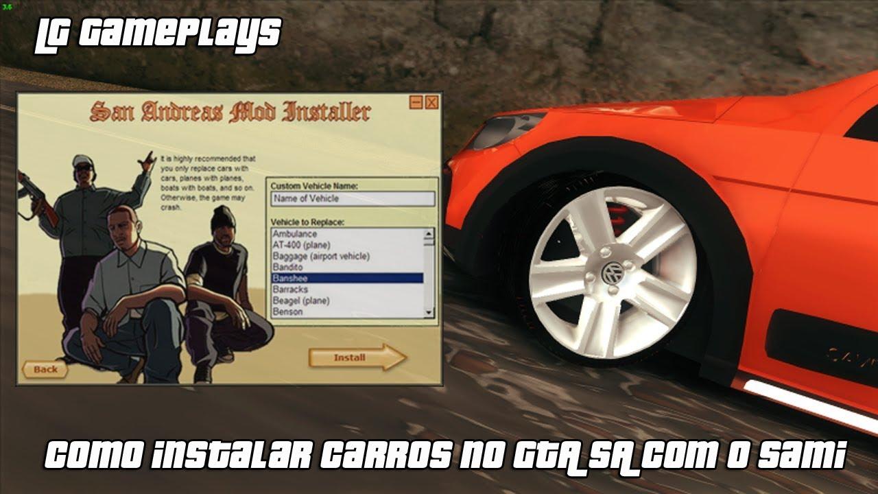 SAN GTA 55 BRASILEIROS PC BAIXAR CARROS PARA ANDREAS