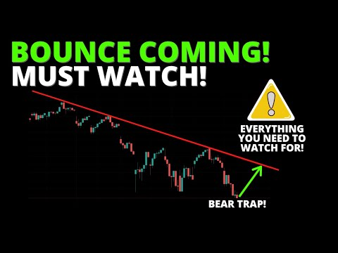BOUNCE COMING! MUST WATCH! (S\u0026P500, SPY, QQQ, DIA, ARKK, BTC)