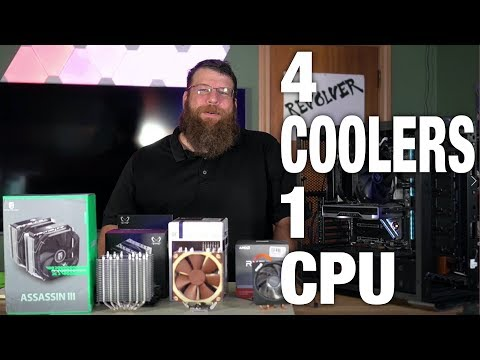 Wraith Spire Prism VS Assassin III AND MORE! - AMD Ryzen 9 3900x Cooler Test
