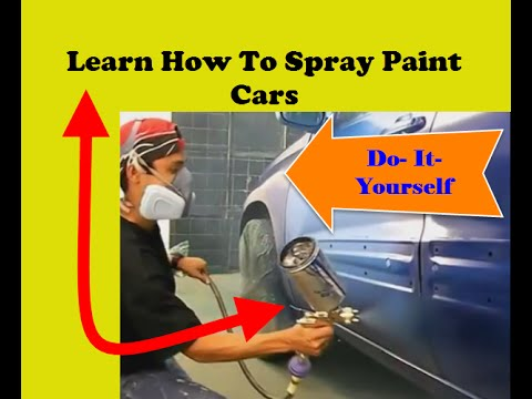 how to spray paint cars yourself vip training course community. Black Bedroom Furniture Sets. Home Design Ideas