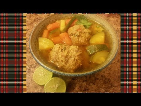How to make Albóndigas (Mexican Meatball Soup)