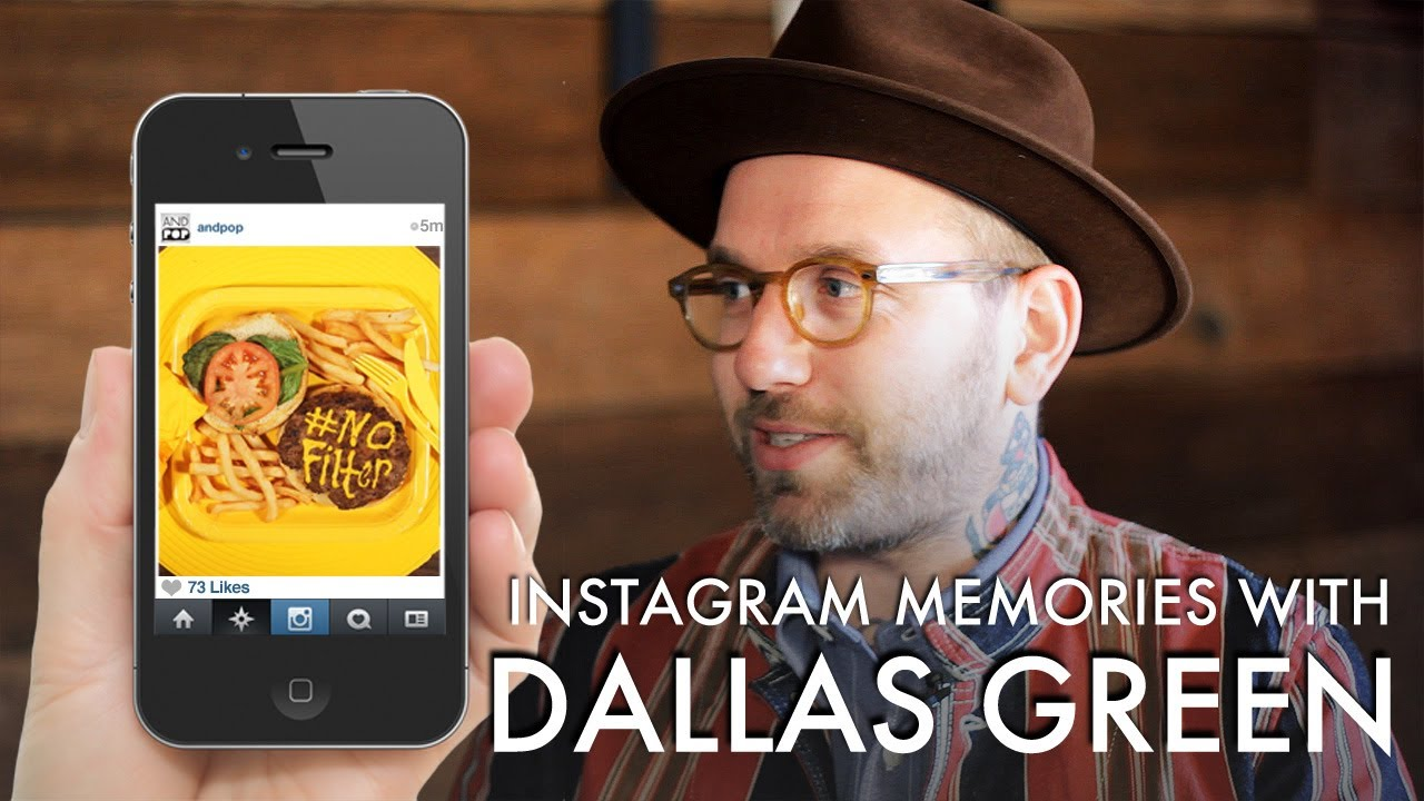city and colour interview dallas green 39 s instagram memories youtube. Black Bedroom Furniture Sets. Home Design Ideas