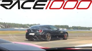 Ferrari 458 italia vs. Ferrari FF (60-300kmh) - ROLL RACE