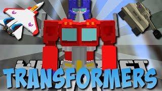 TRANSFORMERS MOD (Flugzeuge, Optimus Prime, Portale)