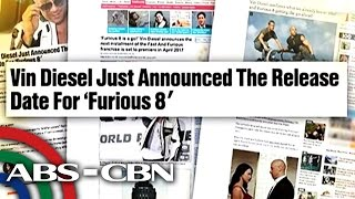 Bandila: Vin Diesel confirms there will be 'Furious 8'