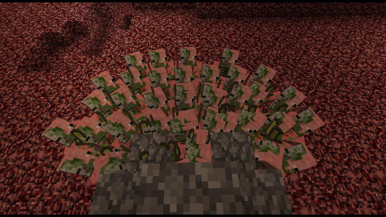 Simple AFK Zombie Pigman Farm 8 in Minecraft - MCinstructabuilds