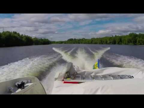 NYC to Montreal by boat/yacht long time lapse