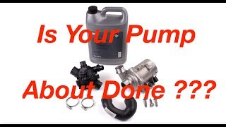 How To Check The Date On Your BMW Electric Water Pump  E90 E60 X5 X3