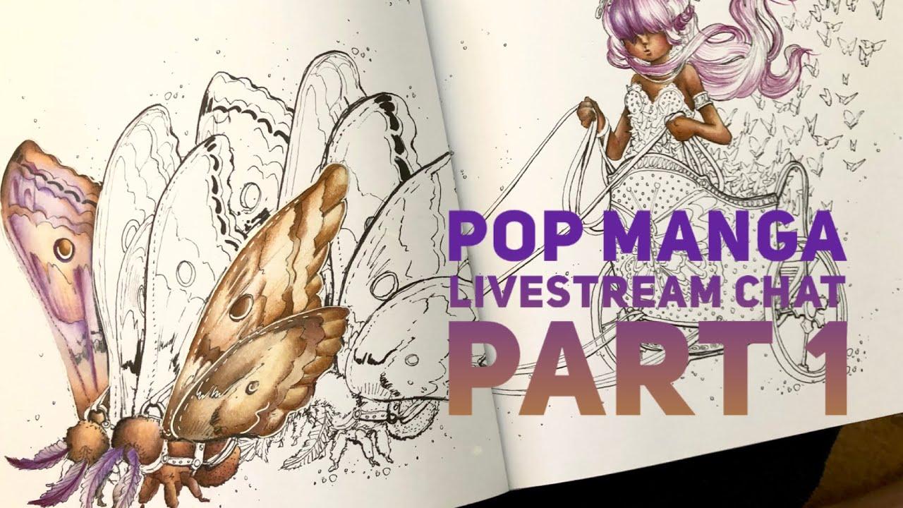 Part2LIVESTREAM | Pop Manga 'Chariot of wings' Camilla d'Errico