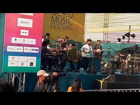 Advaita performing live at udaipur world music festival 2017
