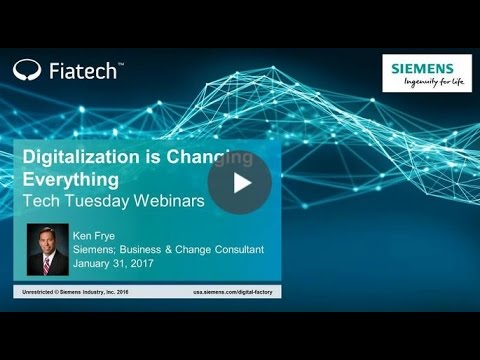 Digitalization is Changing Everything