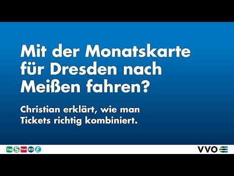 Mit der Dresdner Monatskarte nach Meißen fahren? – Tickets im VVO richtig kombinieren