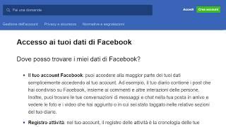✔⌨-Facebook Accesso ai tuoi Dat