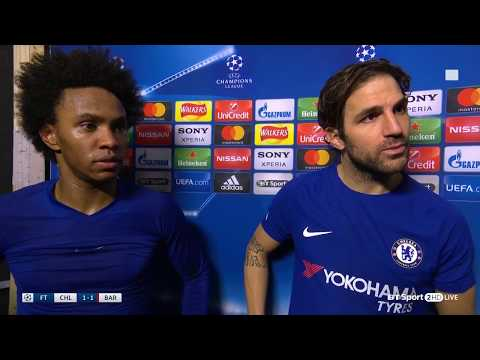 WIllian: Chelsea should have beaten Barcelona - Full interview