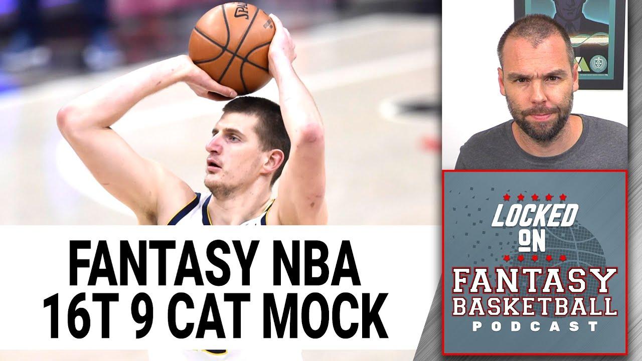 Download NBA Fantasy Basketball Mock Draft   16 Team 9 Cat H2H