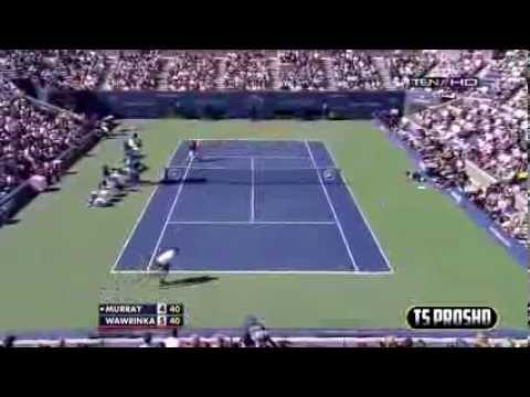 Andy Murray Vs Stanislas Wawrinka - Cuartos de Final US OPEN 2013 MEJORES MOMENTOS HD