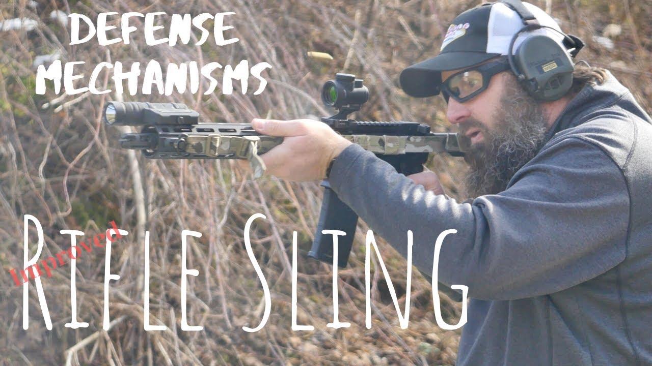 Defense Mechanisms Rifle Sling Youtube