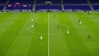Rcd Espanyol Vs Real Madrid | Liga Santander | Journée 32 | 28 Juin 2020 | Pes 2020