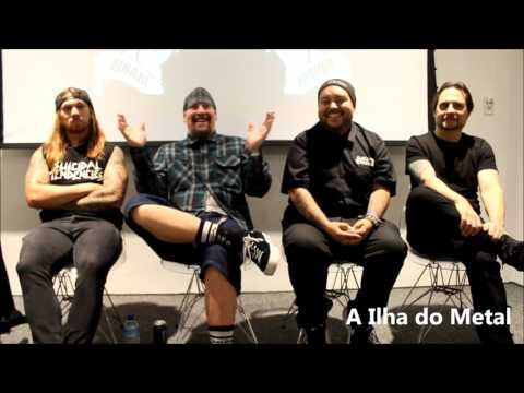 Suicidal Tendencies -    Brazil Press Conference -  2017 april 25