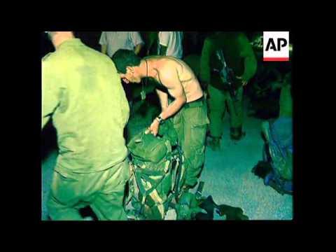 LEBANON: ISRAELI SOLDIERS SHOOT DEAD 4 HEZBOLLAH GUERILLAS