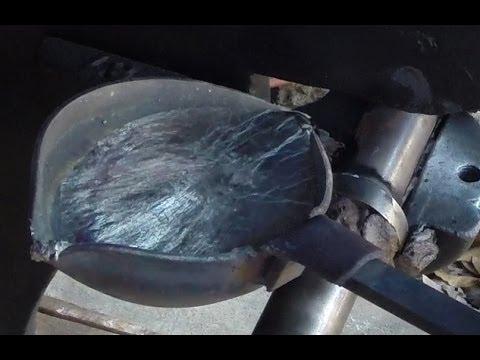 Pouring Babbitt Bearings on the J. A. Vance Planer/Matcher