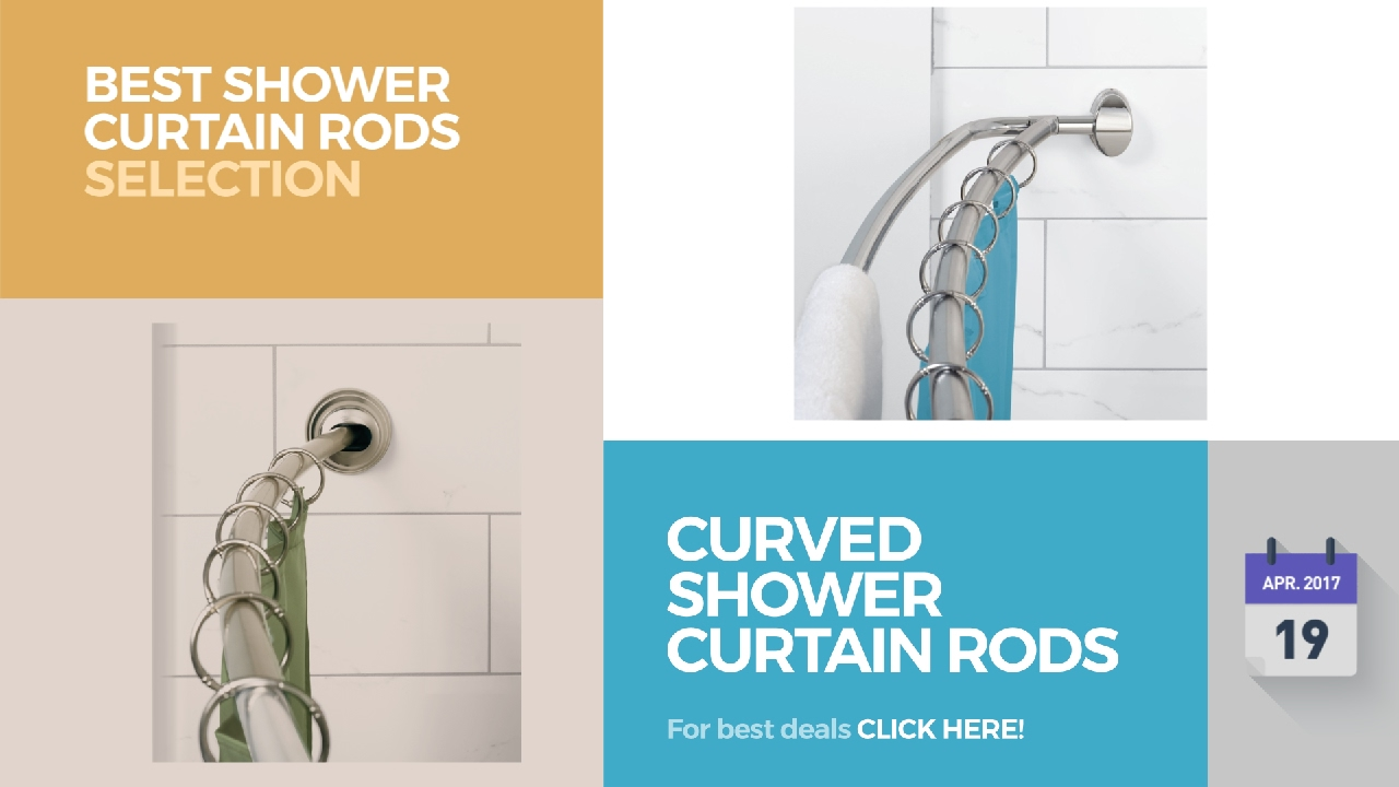 Curved Shower Curtain Rods Best Selection